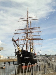 RRS Discovery at Discovery Point, Dundee, August 2018
