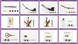 Reference photos of Horniman Museum objects