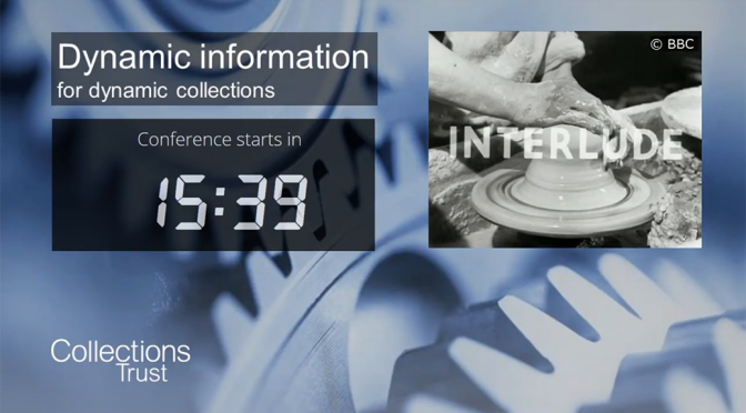 Collections Trust 2020: systems, interoperability and aggregators