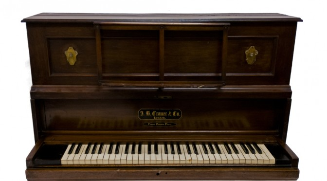 Captain Scott's piano