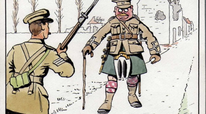'The notorious Major B-D': my great-grandfather and the Christmas truce